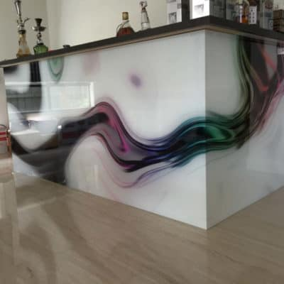 Панно из стекла 5